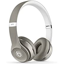 Beats by Dr. Dre Solo2 Cuffie On-Ear Luxe Edition, Argento
