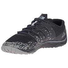 Merrell Men's Trail Glove 5 Fitness Shoes, Black (Black), 8 UK 42 EU