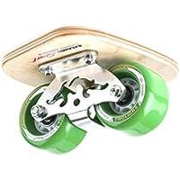 TWOLIONS-Grom Pro Skates Drift Skates,(Freeline saktes) ABS pedal Pedal de acero Con ruedas de la PU de 72 milímetros con los cojinetes ABEC-7 (Izquierda y derecha) (GuoLu)