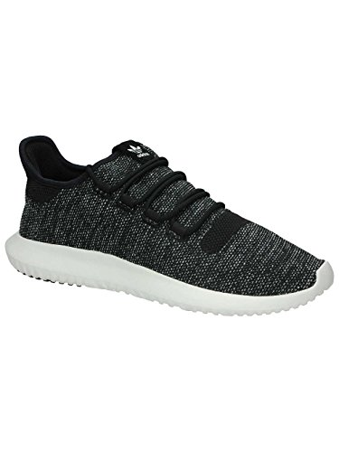 adidas Tubular Shadow Knit Black Utility Black White 47