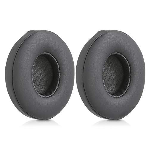 kwmobile 2X Ohrpolster für Beats Solo 2 Wireless / 3 Kopfhörer - Kunstleder Ersatz Ohr Polster für Beats Overear Headphones thumbnail