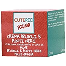 Cutered Young - Crema Brufoli e Punti neri • Estratto di salvia • Estratto di orticaria • Clorexidina • Estratto di scorza di limone • Bardana