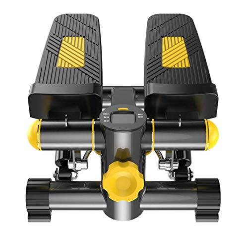 FGSJEJ Laufband Gewichtsverlust Maschine Treppe Stepper Stand Up Heimtrainer Mini Ellipsentrainer Stepper Pedal w/Einstellbarer Widerstand und LCD-Display Fitness-Heimtrainer (Maschine Laufband)