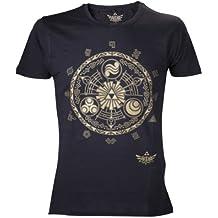 The Legend Of Zelda  - Legend Of Zelda Golden Map (T-Shirt Unisex Tg. M)