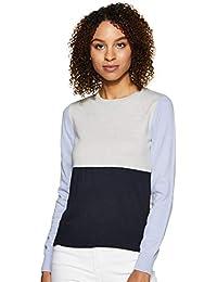 Marks & Spencer Women's Cardigan (T38/1502D_Blue Mix_12)