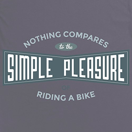 Cycling - Simple Pleasure T-Shirt, Herren Anthrazit
