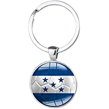 Campeonato Mundial 2018 llavero Fútbol Team Soccer Fan plana llavero, Honduras, 61mm X 30.0
