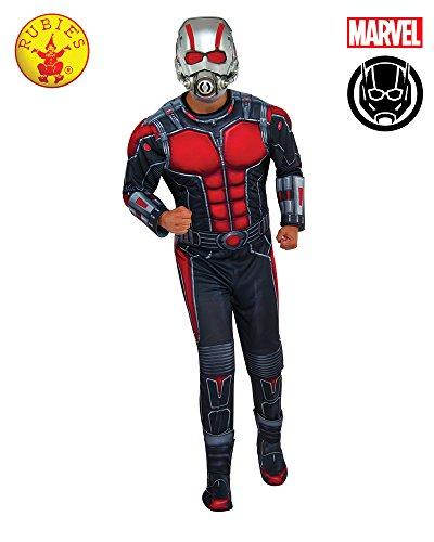 Antman Kostüm - Rubie 's Offizielles 's ant-Man Deluxe Kostüm für Erwachsene-Standard
