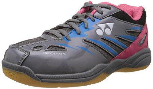 Yonex Excel FI M Badminton Shoes, UK 7 (Grey/Grey/Blue)