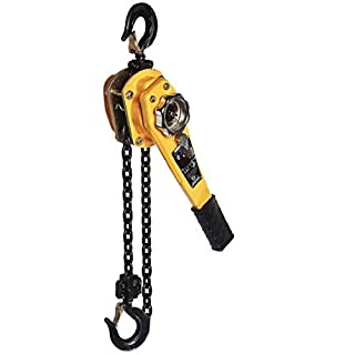 All Material Handling LC008-10 Badger Lever Chain Hoist, 3/4 (0.75) Ton, 10' Lift by All Material Handling