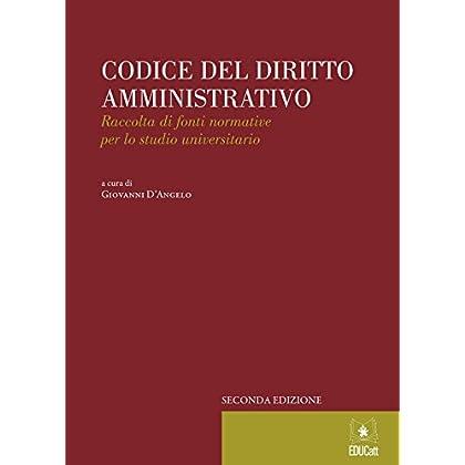 Codice Del Diritto Amministrativo - 2015