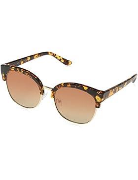 New Look Rod Mirrored, Gafas de Sol para Mujer, Marrón (Dark Brown), 52