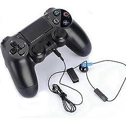 ND_Oreillette écouteur Sony Playstation 4 (PS4) avec Microphone