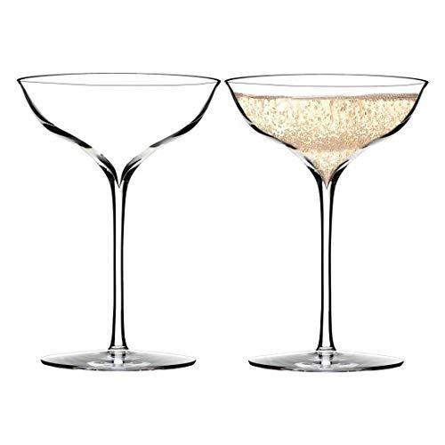 Waterford 40001102 Elegance Belle Coupé, Kristallglas, 180 ml Elegance Coupe