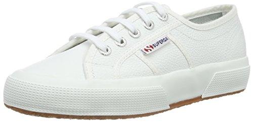 Superga 2750-EFGLU, Scarpe da Ginnastica Unisex Adulto, Bianco (White 900), 39.5 EU