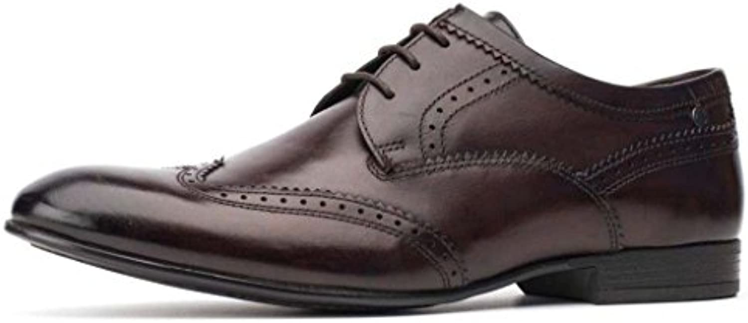 londres purcell a base formelle cuir chaussures brun richelieus chaussures cuir hommes 245cb2