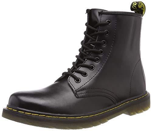SITAILE Unisex-Erwachsene Bootsschuhe Derby Schnürhalbschuhe Kurzschaft Stiefel Winter Boots für Herren Damen Schwarz EU42