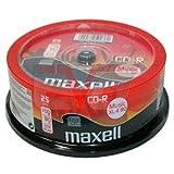 25 Maxell CD-R Digital Audio Musik Rohlinge XL-II Music