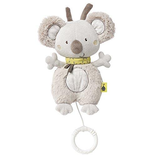 Fehn 064018 Spieluhr Koala / Kuscheltier mit integriertem Spielwerk mit sanfter Melodie zum Aufhängen an Kinderwagen, Babyschale oder Bett, für Babys und Kleinkinder ab 0+ Monaten
