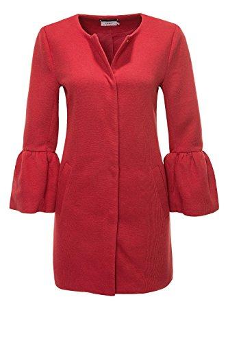 Only Damen Kurzmantel Übergangsmantel Leichter Mantel (42 (Herstellergröße: XL), Jester Red/Solid) (42 Mantel)