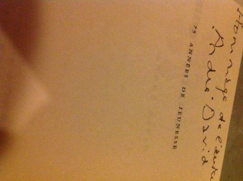 75 années de jeunesse du vivant des héros de marcel proust. par Proust . - David André .