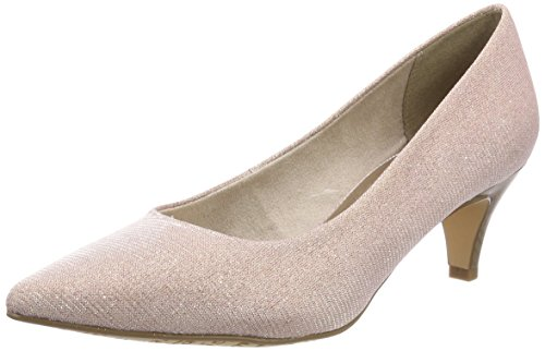 Tamaris Damen 22415 Pumps, Pink (Rose Glam), 37 EU