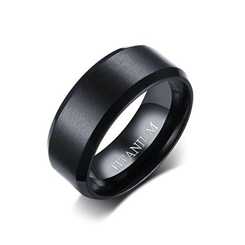 SonMo Ring Echt Silber Herren Ringe Silber Fein Zylindrisch Totenkopf Ring Herren Schwarz Schwarz 0.8CM Paar Ringe Silber für Männer 60 (19.1)