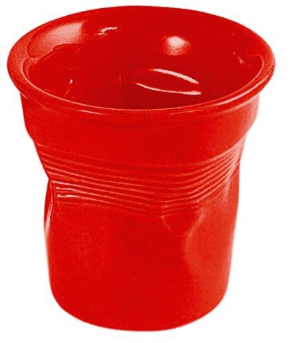 Bialetti Bicchierini RTATZ148, Confezione 6 tazzine da caffé espresso, colore: Rosso