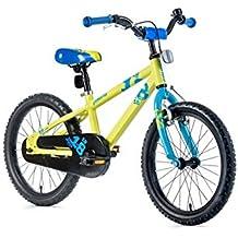 '18pulgadas Aluminum bicicleta de montaña Leader Fox Snake Boy Niños Rueda con contrapedal verde
