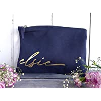 Personalised Makeup Bag with any name