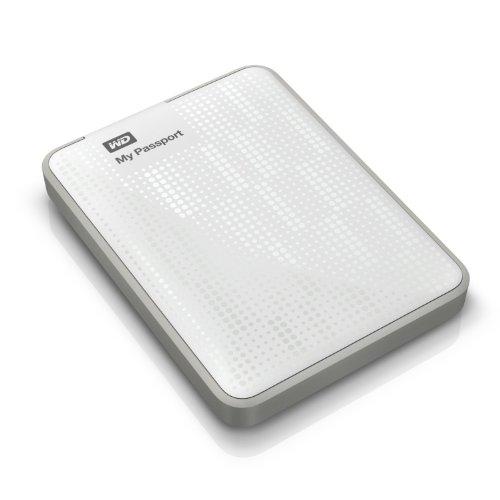 Western Digital MyPassport Ultra 500 GB Externe Festplatte (6,4 cm (2,5 Zoll), USB 3.0) weiß