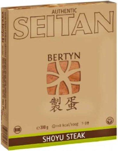 Bertyn Bio Seitan Weizen Shoyu Steak 300g