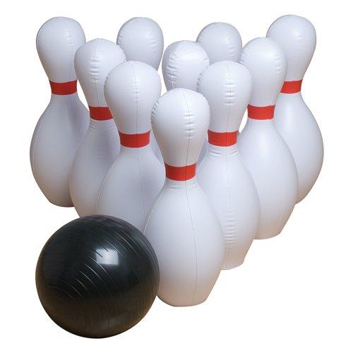 Gamecraft Jumbo aufblasbar Bowling Set, Multicolor, mittel,