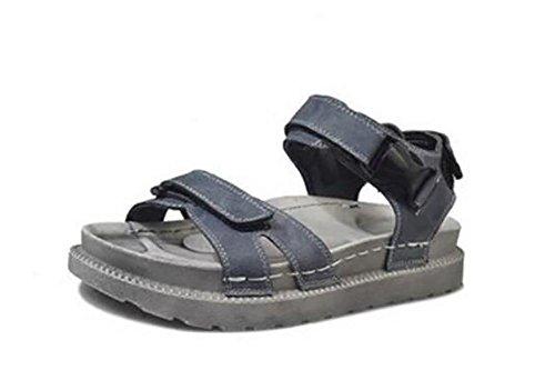 2017 nuovi sandali estivi sandali spesso scarpe selvagge 1