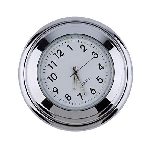 Moto impermeable Moto Manillar Montaje Redondo Reloj Reloj Accesorio Universal Manillar Montaje...