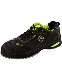 sanita antrazite zapato de seguridad ESD S3, piel, color negro, talla 41