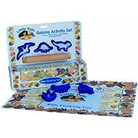 Little Pals - Juego de utensilios de repostería infantiles, color azul