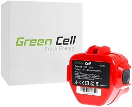 verde Cell® Utensili Elettrici Batteria per Makita 8413DWFE 8413DWFE 8413DWFE (Ni-MH pile 2000 mAh 12V)   Lussureggiante In Design    durabilità    Moderato Prezzo  531fbe