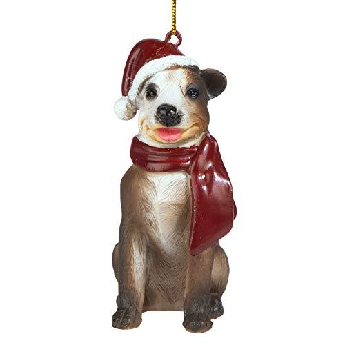 Christmas Ornaments - Weihnachten Pitbull Ferienhundeornamente