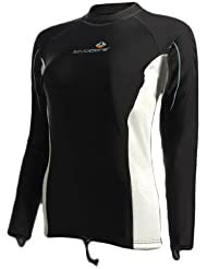 Lavacore Women's Long-Sleeve Shirt - for Scuba , Snorkeling, and Water Sports