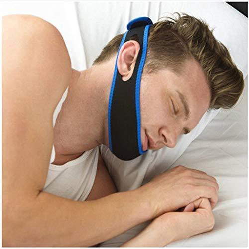 Kinnriemen zur Schnarchreduzierung Anti-Schnarchgurt, schlafender Erwachsener Schnarchgurt für Kinder, Gesichtskorrekturgürtel (einschließlich 3 ×)