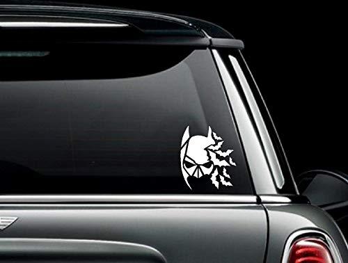 Celycasy Batman-Aufkleber mit Fledermaus-Motiv, für Auto, LKW, Van, Fenster oder Stoßstange, Vinyl