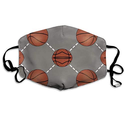 Kostüm Basketball Maske - Daawqee Staubschutzmasken, Basketball Court Face Masks Breathable Dust Filter Masks Mouth Cover Masks with Elastic Ear Loop