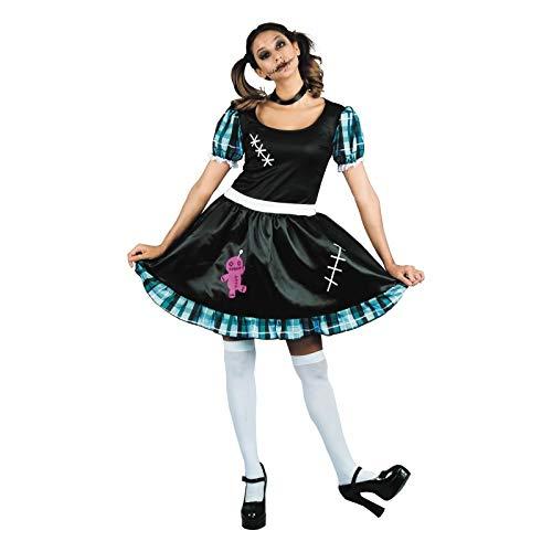 Party Pro 87296157 Kostüm Voodoo Girl für Erwachsene (Voodoo Child Kostüm)