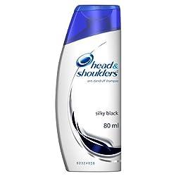 Head and Shoulders Shampoo Silky Black, 80ml