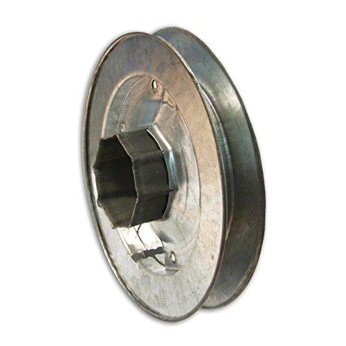 Polea octogonal para rodillo de metal, de Home System tp45082, diámetro 200 mm, para persiana