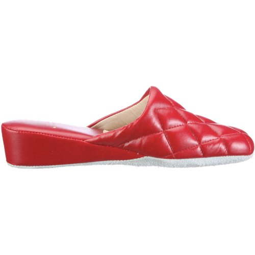 Hans Herrmann Collection Lucca 030316-10, Chaussons femme Rouge-TR-AP