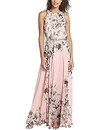 best service 1b800 75f73 Amazon.it: fiori di chiffon - Vestiti / Donna: Abbigliamento