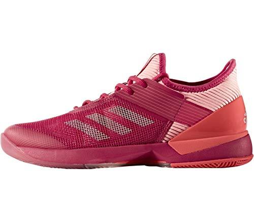 adidas Damen Adizero Ubersonic 3 W Tennisschuhe, Rosa (Rosene/Grmeva / Corsen), 41 1/3 EU