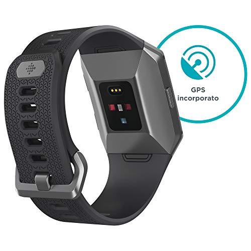Zoom IMG-2 fitbit ionic fitness smartwatch nero